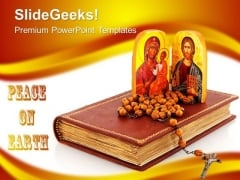 Greek Orthodox Church PowerPoint Templates And PowerPoint Themes 0712