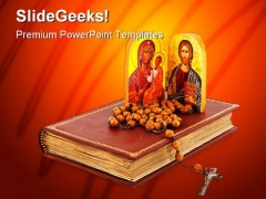 Greek Orthodox Religion PowerPoint Backgrounds And Templates 1210