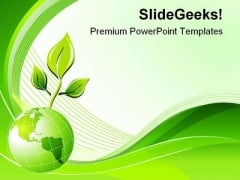 Green Abstract Lines Background PowerPoint Themes And PowerPoint Slides 0611