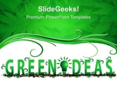 Green Ideas Environment PowerPoint Templates And PowerPoint Themes 0312
