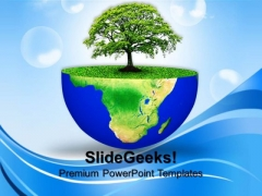 Green Planet Earth Environment PowerPoint Templates And PowerPoint Themes 0812