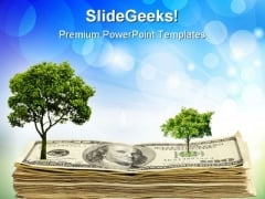 Green Tree Environment PowerPoint Themes And PowerPoint Slides 0611