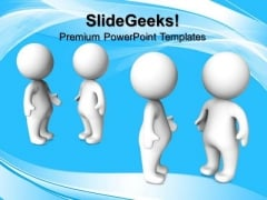 Group Discussion Business PowerPoint Templates And PowerPoint Themes 0812