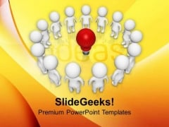 Group Idea Creative Innovation PowerPoint Templates Ppt Backgrounds For Slides 0113