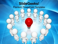 Group Idea People Technology PowerPoint Templates And PowerPoint Themes 0812