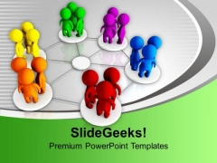 Group Of People Discussing Diversity Networking PowerPoint Templates Ppt Backgrounds For Slides 1212