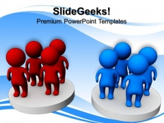 Group Of Person Discussion Business PowerPoint Templates And PowerPoint Themes 0812