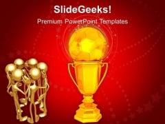 Group Stategy To Achieve Goal PowerPoint Templates Ppt Backgrounds For Slides 0413