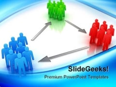 Groups Of People Communication PowerPoint Templates And PowerPoint Backgrounds 0311