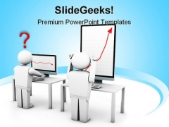 Growing Business PowerPoint Template 1010