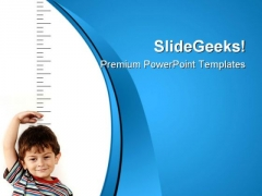 Growing Child Health PowerPoint Templates And PowerPoint Backgrounds 0811