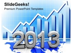 Growing Global Business New Year Concept PowerPoint Templates Ppt Backgrounds For Slides 1112