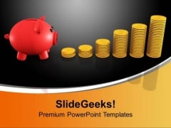 Growing Investment Money PowerPoint Templates And PowerPoint Themes 1012