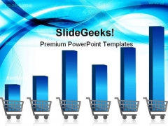 Growing Shopping Graph Sales PowerPoint Themes And PowerPoint Slides 0411