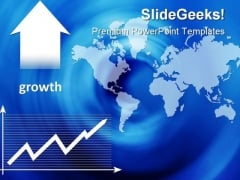 Growth Abstract Business PowerPoint Templates And PowerPoint Backgrounds 0611