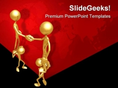 Growth Business Success PowerPoint Themes And PowerPoint Slides 0711