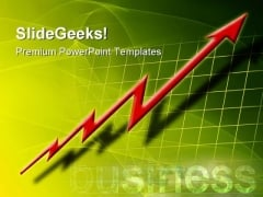 Growth Chart Success Business PowerPoint Templates And PowerPoint Backgrounds 0611