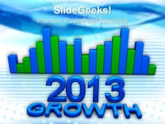 Growth Concept Marketing PowerPoint Templates And PowerPoint Themes 1012