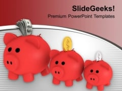 Growth In Income Savings Future PowerPoint Templates Ppt Backgrounds For Slides 0113