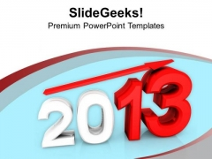 Growth In New Year Business Success PowerPoint Templates Ppt Backgrounds For Slides 1112