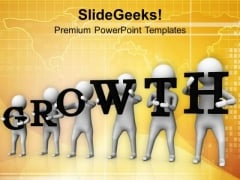 Growth Is Required In Business PowerPoint Templates Ppt Backgrounds For Slides 0713