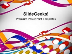 Halftone Colorful Beauty PowerPoint Themes And PowerPoint Slides 0411