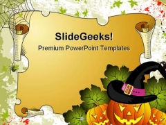 Halloween Holidays PowerPoint Template 1010