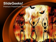 Halloween PowerPoint Templates And PowerPoint Themes 0912