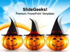 Halloween Pumpkin Festival PowerPoint Templates And PowerPoint Themes 0812