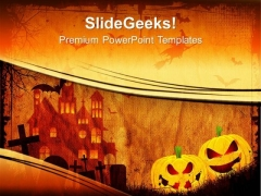 Halloween Pumpkin Festival PowerPoint Templates And PowerPoint Themes 0912