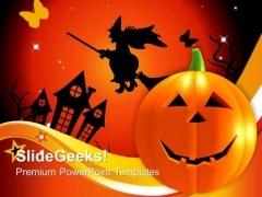 Halloween Pumpkins Festival PowerPoint Templates And PowerPoint Themes 0912
