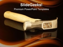 Hammer On Reflection Industrial PowerPoint Themes And PowerPoint Slides 0311
