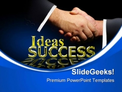 Handshake01 Success PowerPoint Templates And PowerPoint Backgrounds 0711