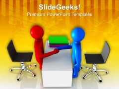 Handshake On Business Agreement PowerPoint Templates Ppt Backgrounds For Slides 0713