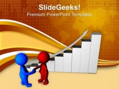 Handshake On Successful Deal PowerPoint Templates Ppt Backgrounds For Slides 0713