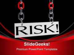 Hanging Risk Business PowerPoint Themes And PowerPoint Slides 0411