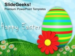 Happy Easter Day Festival PowerPoint Templates Ppt Backgrounds For Slides 0313