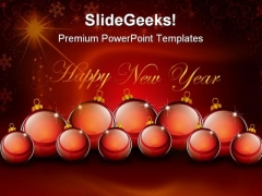 Happy New Year Background PowerPoint Templates And PowerPoint Backgrounds 1211