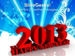 Happy New Year Event Holiday PowerPoint Templates Ppt Background For Slides 1112