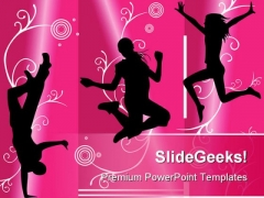 Happy People PowerPoint Templates And PowerPoint Backgrounds 0711