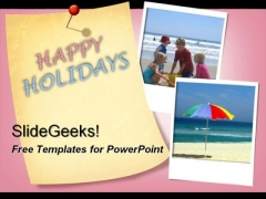 Happy Holidays PowerPoint Template