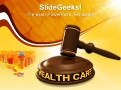 Health Care Law PowerPoint Templates And PowerPoint Themes 1012