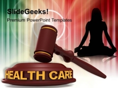 Health Care Law PowerPoint Templates Ppt Backgrounds For Slides 1112