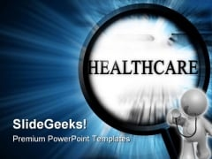 Health Care Medical PowerPoint Template 0610