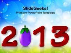 Health Concept In Upcoming Year Food PowerPoint Templates Ppt Backgrounds For Slides 1212