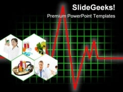 Health Test Medical PowerPoint Themes And PowerPoint Slides 0411