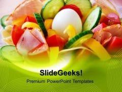 Healthy Breakfast Food PowerPoint Templates And PowerPoint Themes 0512