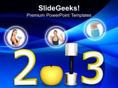 Healthy New Year Youth Future PowerPoint Templates Ppt Backgrounds For Slides 1212