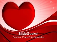 Heart Love Metaphor PowerPoint Templates And PowerPoint Themes 0712