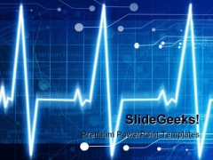 Heart Monitor Technology PowerPoint Themes And PowerPoint Slides 0811